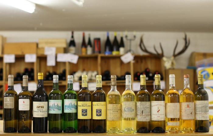 Wine und Dine Caduff Wine Loft - Reife Weisse Bordeaux