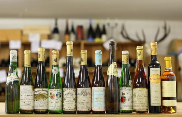 Wine und Dine Caduff - Reife Süssweine - Egon Müller und Château D'Yquem
