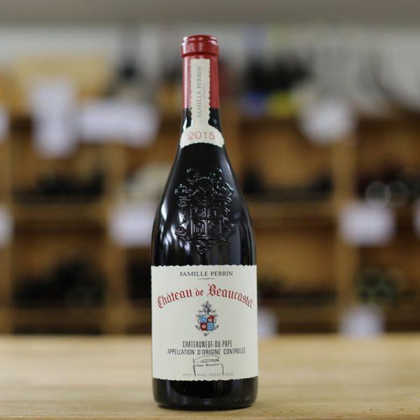 Weingut Château de Beaucastel Châteauneuf-du-Pape Granache 2015 - Caduff's Wine Loft
