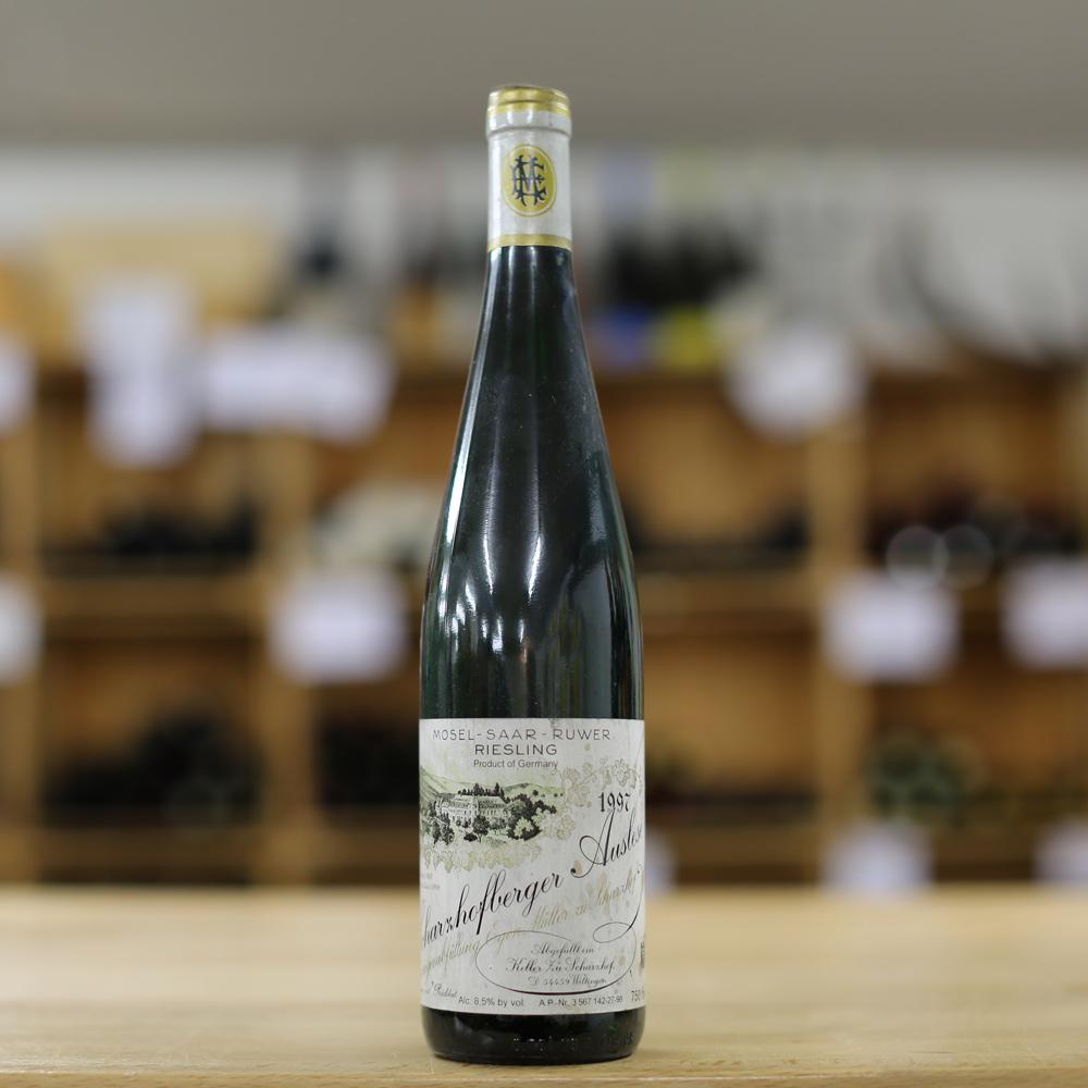 Winery Egon Müller Saar Scharzhofberger Riesling Auslese 1997 - Caduff's  Wine Loft unterwegs...