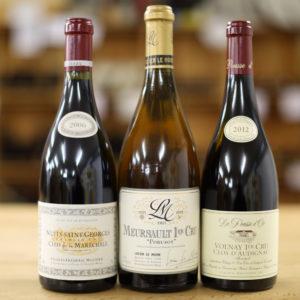 Paket Burgunder 1er Cru 2006, 2011, 2012 - Caduff Wine Loft