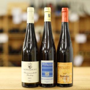 Paket Deutsche Rislaner trocken, grosse Gewächse, 2012, 2013 - Caduff Wine Loft