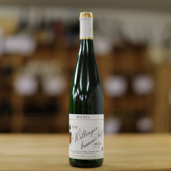 Weingut Egon Müller Wiltinger braune Kupp Riesling Auslese 2019
