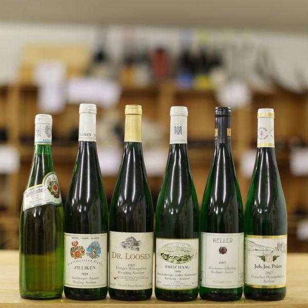Weingut Riesling Rieslaner, Diverse 1976 - 2007.